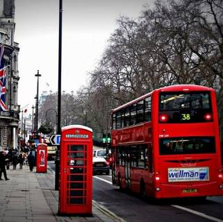 У Лондоні автобуси почали їздити на каві