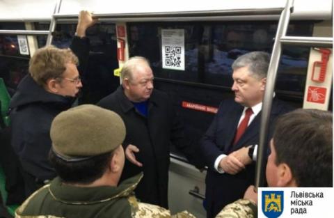 Президент України протестував львівський електробус