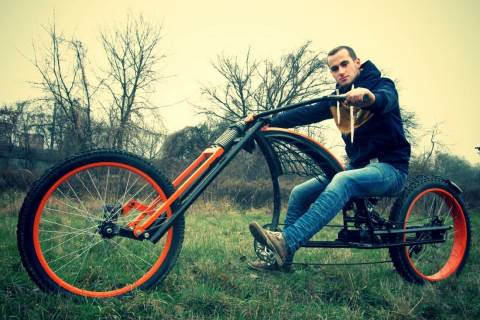 Ровер власноруч. Як львів'янин майструє унікальні велосипеди
